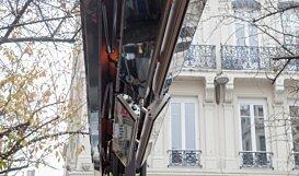 Dual Fixing Brackets Accessorie - In-Situ Image by Heatscope