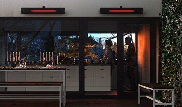 Indoor Kitchen - Infrared Radiant Heaters