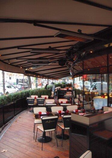 Spot - Restaurant - Infrared Radiant Heaters