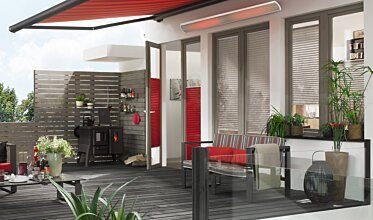 Vision 3200W Hotels & Restaurant - In-Situ Image by Heatscope Heaters