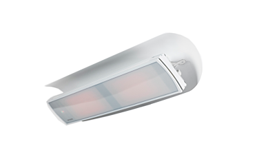 Weathershield 5 White Accessorie - Studio Image by Heatscope Heaters
