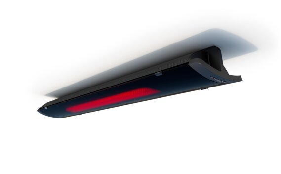 Pure 2400W Collection - Black / Black - Flame On by Heatscope Heaters
