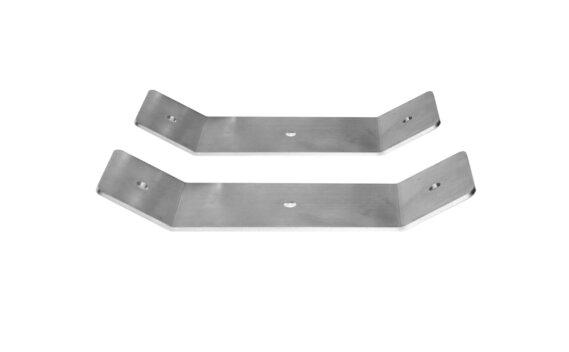 Dual Fixing Brackets Accessorie - Stainless Steel by Heatscope Heaters