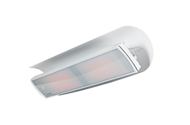 Weathershield 5 White Accessorie - Studio Image by Heatscope