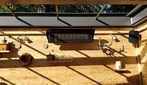 Weathershield 3 Black  - In-Situ Image by Heatscope